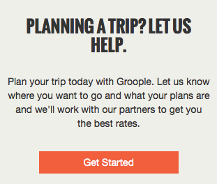 Planning a Trip? Let us help.