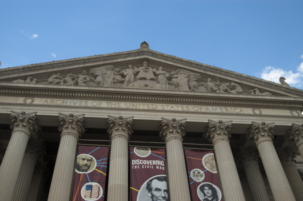 Historical archive in Washington DC