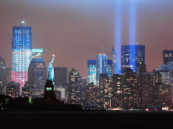 New-York-City-in Red-White-and-Blue