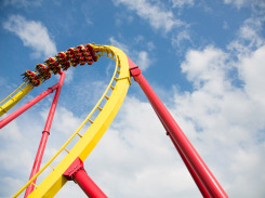 Roller-Coaster-Ride-Six-Flags