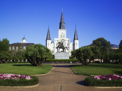 St.Louis-Cathedral -in-Jackson-Square-New-Orleans