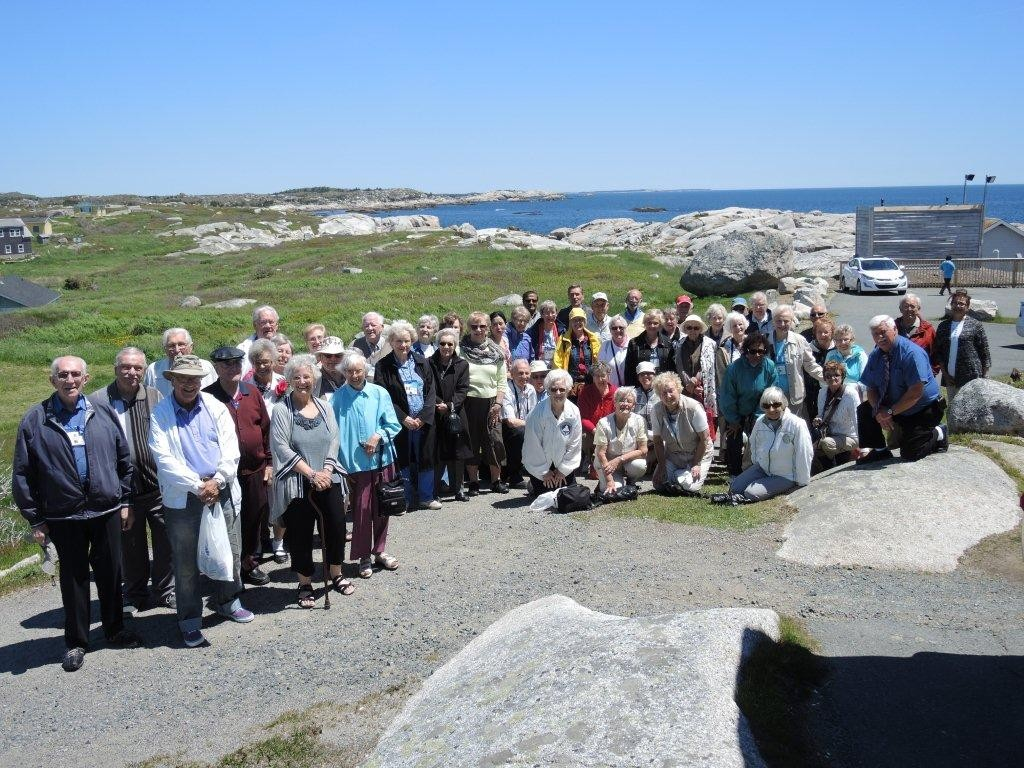 Ontario Choir at Peggy's Cove - Groople